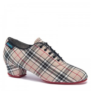 Heather Split - Beige Check RS