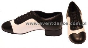 Tango Duo -  Black Calf / White Patent